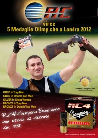 RC vince 5 Medaglie Olimpiche a Londra 2012